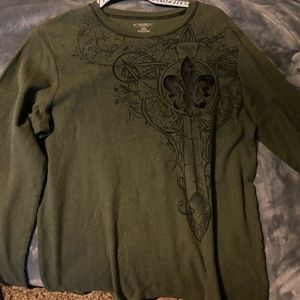 "Green ""No Boundaries"" Long Sleeve"
